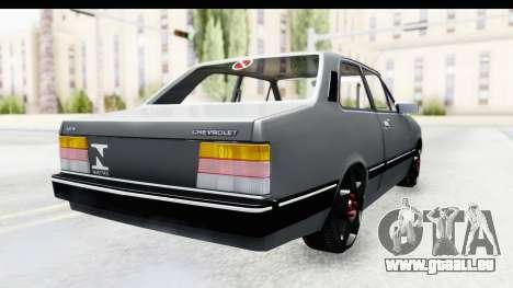 Chevrolet Chevette SL für GTA San Andreas zurück linke Ansicht