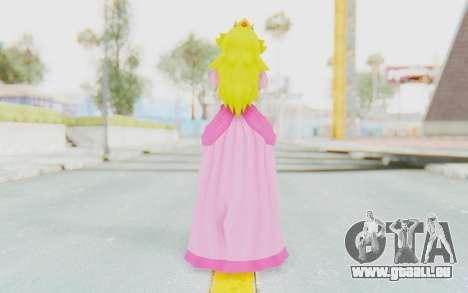 Princess Peach pour GTA San Andreas troisième écran