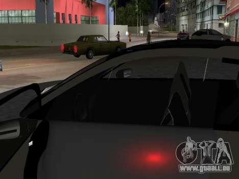 Lada X-Ray pour GTA Vice City sur la vue arrière gauche