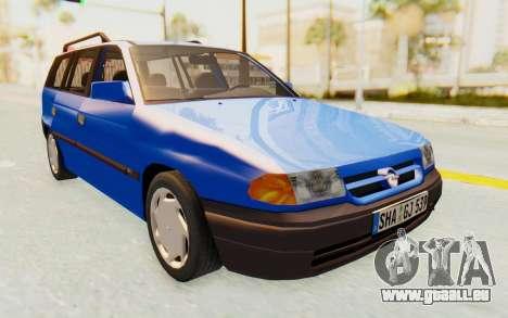 Opel Astra F Kombi 1997 pour GTA San Andreas vue de droite