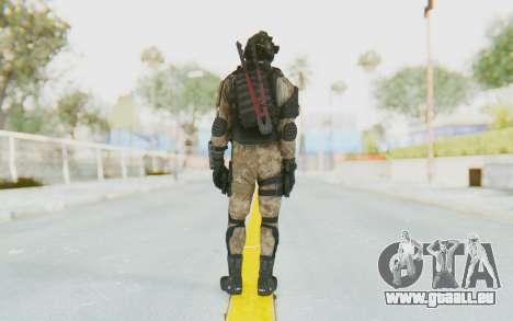 Federation Elite SMG Desert pour GTA San Andreas troisième écran