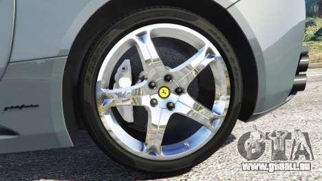 GTA 5 Ferrari California Autovista hinten rechts