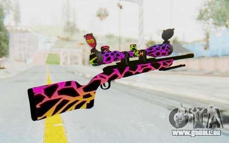 Sniper pour GTA San Andreas deuxième écran