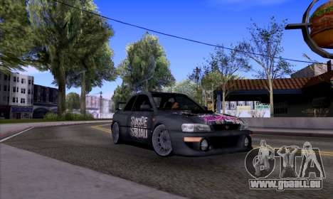 Subaru impreza 22B (SUICIDE SQUAD) pour GTA San Andreas
