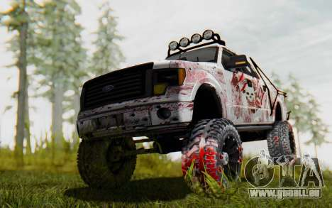 Ford F-150 ROAD Zombie für GTA San Andreas