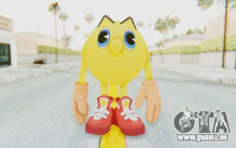 Pac-Man v1 für GTA San Andreas zweiten Screenshot