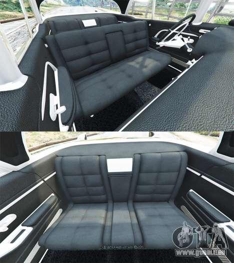 GTA 5 Cadillac Eldorado Brougham 1957 v1.1 Lenkrad