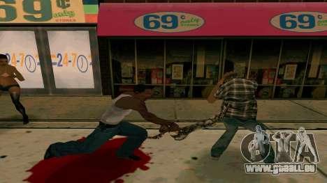 Prince Of Persia Water Sword pour GTA San Andreas deuxième écran