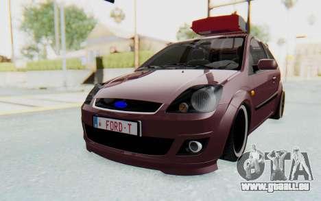 Ford Fiesta für GTA San Andreas rechten Ansicht
