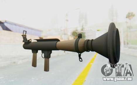 Rocket Launcher from TF2 für GTA San Andreas zweiten Screenshot
