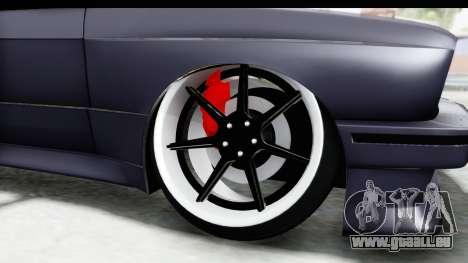 BMW M3 E30 2015 JDM pour GTA San Andreas vue arrière