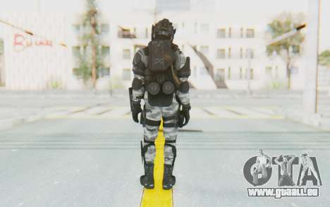 Federation Elite LMG Arctic für GTA San Andreas dritten Screenshot
