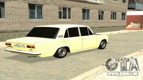 VAZ 21013 pour GTA San Andreas laissé vue