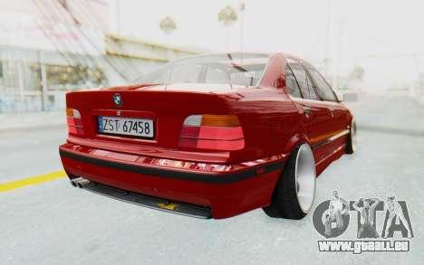 BMW M3 E36 2.5 TDS für GTA San Andreas rechten Ansicht