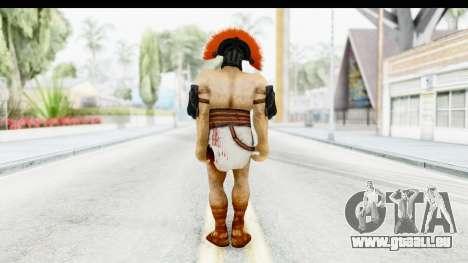 God of War 3 - Hercules v1 pour GTA San Andreas troisième écran