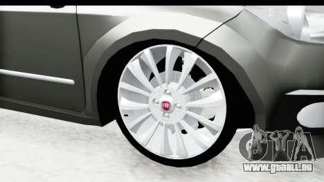 Fiat Linea 2014 für GTA San Andreas Rückansicht
