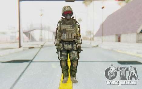 CoD AW US Marine Assault v2 Head B pour GTA San Andreas deuxième écran