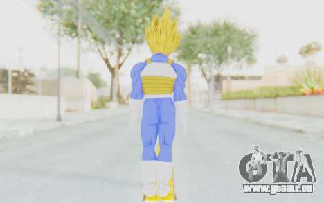 Dragon Ball Xenoverse Vegeta Android Saga SSJ für GTA San Andreas dritten Screenshot