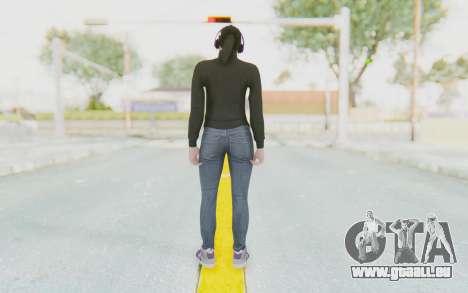 GTA Online Skin Female pour GTA San Andreas troisième écran