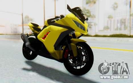 Kawasaki Ninja 250 Abs Streetrace v2 pour GTA San Andreas vue de droite