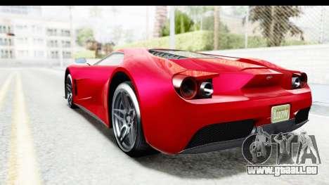 GTA 5 Vapid FMJ IVF pour GTA San Andreas laissé vue