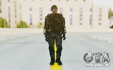 CoD Advanced Warfare Gideon für GTA San Andreas zweiten Screenshot