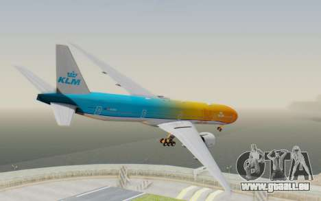 Boeing 777-300ER KLM - Royal Dutch Airlines v1 für GTA San Andreas linke Ansicht