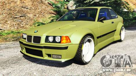 BMW M3 (E36) Street Custom v1.1 pour GTA 5