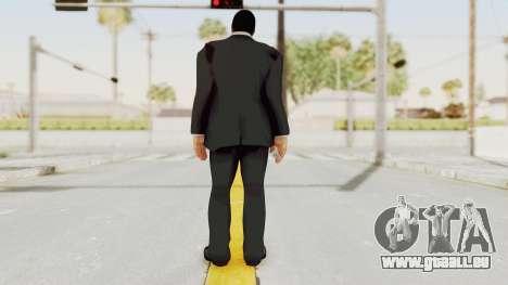 Dead Rising 2 Off The Record Frank West Glasses pour GTA San Andreas troisième écran
