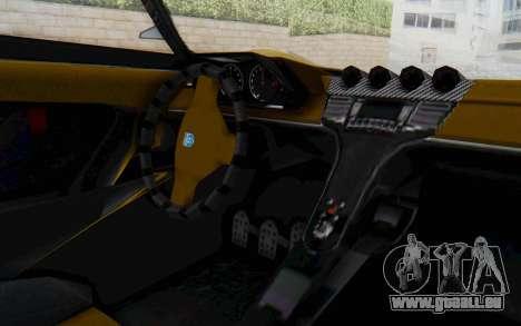 GTA 5 Grotti Prototipo v2 IVF pour GTA San Andreas vue de côté