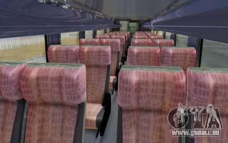 Marcopolo Inforana Bus pour GTA San Andreas vue arrière