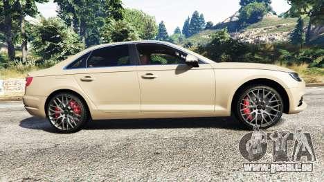 GTA 5 Audi A4 2017 linke Seitenansicht