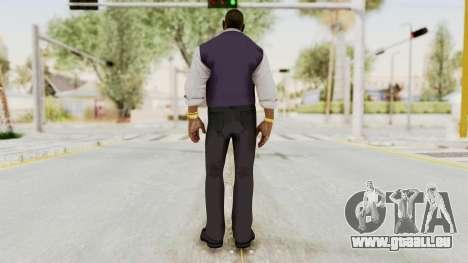 Dead Rising 2 Off The Record TK Coat Less pour GTA San Andreas troisième écran
