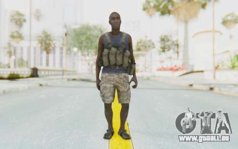 CoD MW3 Africa Militia v2 für GTA San Andreas zweiten Screenshot