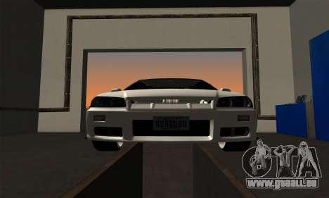 Nissan Skyline ER34 GT-R pour GTA San Andreas vue arrière