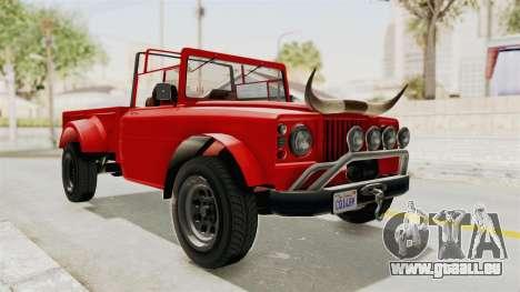GTA 5 Canis Bodhi IVF pour GTA San Andreas