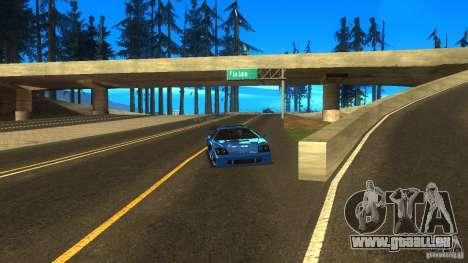 ENB for low PC by SETFIRE pour GTA San Andreas deuxième écran
