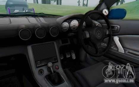 Nissan Silvia S15 Monster Truck für GTA San Andreas Innenansicht