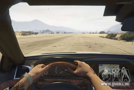 Mercedes-Benz S65 AMG (W221) pour GTA 5
