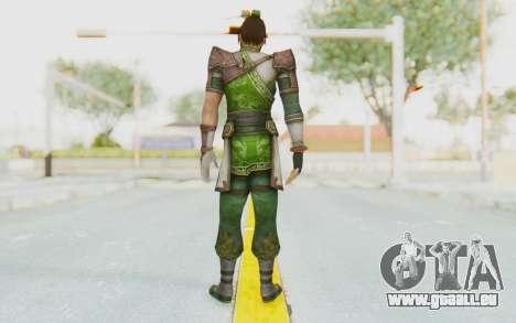 Dynasty Warriors 8 - Guan Su pour GTA San Andreas troisième écran