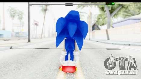 Dreamcast Sonic für GTA San Andreas dritten Screenshot