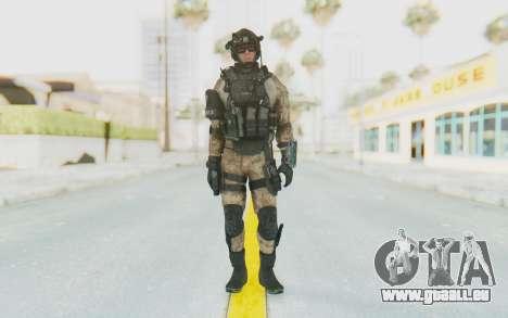 Federation Elite Assault Desert pour GTA San Andreas deuxième écran