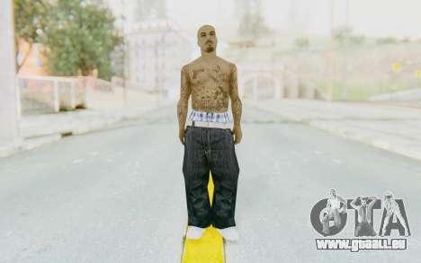 Mexican Skin pour GTA San Andreas deuxième écran