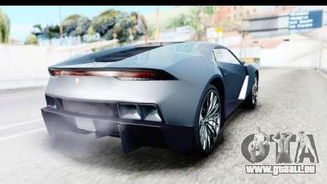 GTA 5 Pegassi Reaper v2 pour GTA San Andreas laissé vue