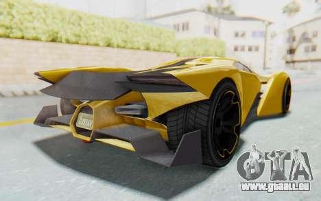 GTA 5 Grotti Prototipo v2 IVF pour GTA San Andreas vue de droite