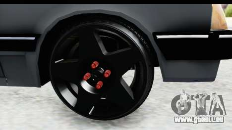 Chevrolet Chevette SL für GTA San Andreas Rückansicht