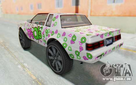 GTA 5 Willard Faction Custom Donk v1 IVF pour GTA San Andreas roue