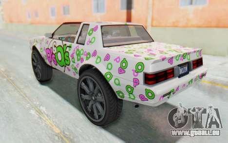 GTA 5 Willard Faction Custom Donk v1 IVF pour GTA San Andreas roue