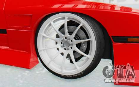 Mazda RX-7 FC3S BN Sport pour GTA San Andreas vue intérieure