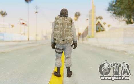 COD BO Bruce Harris Winter für GTA San Andreas dritten Screenshot